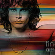 Jim Morrison The Doors Art Print