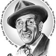Jimmy Durante Art Print