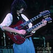 Jimmy Page 1983 Art Print