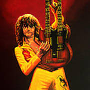 Jimmy Page Painting Art Print