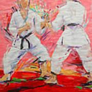 Jiyu Kumite Art Print