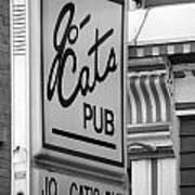 Jo Cats Pub Art Print
