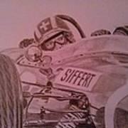 Jo Siffert And His Brabham Bt11 Art Print