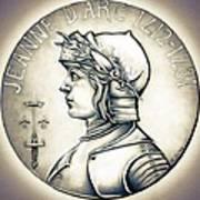 Joan Of Arc - Original Art Print