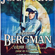 Joan Of Arc, Poster Art, Ingrid Art Print