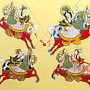 Jodhpur Polo Art Print