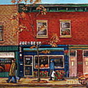 Joe Beef Restaurant Montreal Art Print