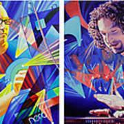 Joel And Andy Art Print by Joshua Morton