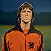 Johan Cruyff Oranje Art Print