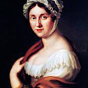 Johanna Wagner (1774-1848) Art Print