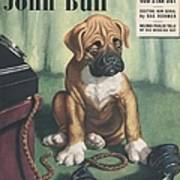 John Bull 1949 1940s Uk Dogs  Magazines Art Print by The Advertising Archives