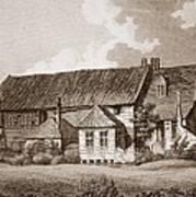John Bunyans Meeting House, Early 19th Art Print