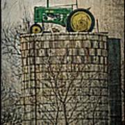 John Deere Parking Only Art Print