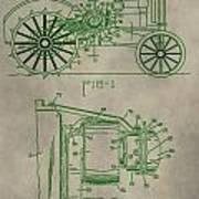 John Deere Patent Art Print