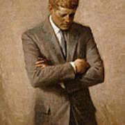 John F Kennedy 2 Art Print