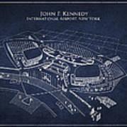John F Kennedy International Airport Art Print