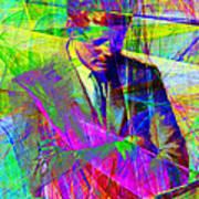 John Fitzgerald Kennedy Jfk In Abstract 20130610v2 Art Print