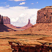 John Ford Point - Monument Valley - Arizona Art Print