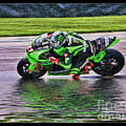 John Hopkins 2005 Motogp Red Bull Suzuki Art Print
