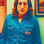 John Lennon 1975 Art Print