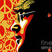 John Lennon Imagine Art Print by Sassan Filsoof