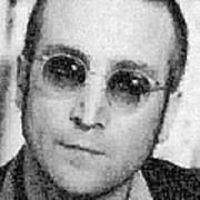 John Lennon Mosaic Image 9 Art Print
