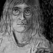 John Lennon Number 9 Art Print