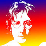 John Lennon The Legend Art Print