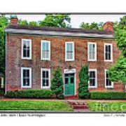 John Snow House Worthington Art Print