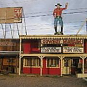 John Wayne Cowboy Museum Tombstone Arizona 2004 Art Print