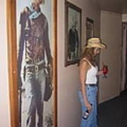 John Wayne Gallery Hondo 1953 Crystal Palace Saloon Helldorado Days Tombstone Arizona 2004 Art Print