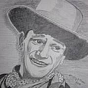 John Wayne Art Print