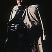 Johnny Cash Trench Coat Old Tucson Arizona 1971 Art Print