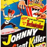 Johnny The Giant Killer, Aka Jeannot Art Print