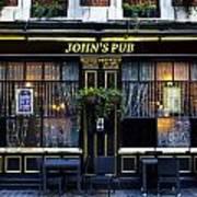 John''s Pub Art Print