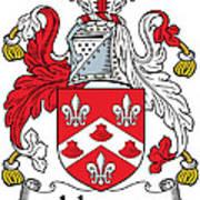 Johnson Coat Of Arms Irish Art Print