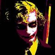 Joker 10 Art Print