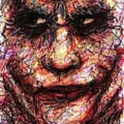 Joker - Face II Art Print