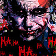Joker Art Print by Jeremy Scott