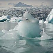 Jokularsson Glacier Lagoon Art Print