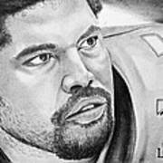 Jonathan Ogden Art Print by Don Medina