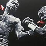 Jones Jr Vs Trinidad Art Print