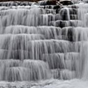 Jones Mill Run Dam Up Close 2 Art Print