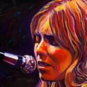 Joni Mitchell..legend Art Print