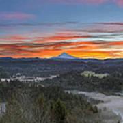 Jonsrud Viewpoint Sunrise Art Print
