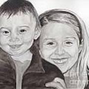 Jordan And Chey Chey Art Print