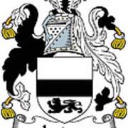 Jordan Coat Of Arms Irish Art Print