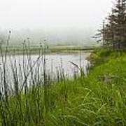 Jordan Pond In Acadia National Park Art Print