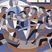 Jordan Quaker Meeting 2 Art Print