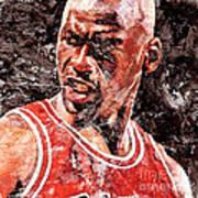 Jordan The Best Art Print